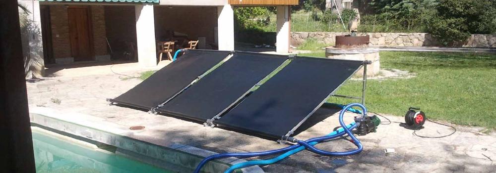Placas solares para calentar agua de piscina for Calentar agua piscina